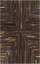 Home Weavers Animal Hide / Leather Rug by Surya