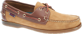 Sebago Endeavour Leather Boat Shoes, Tan