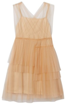 Burberry Kids Tiered Tulle Dress (3-12 Years)