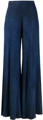 Avant Toi Pleated Wide-Leg Trousers