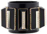 Givenchy Embellished Leather Cuff