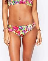 Hobie Fly Free Macrame Side Hipster Bikini Bottoms