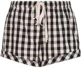 Solid & Striped Gingham Drawcord Shorts