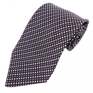 Saint Laurent Black Silk Ties