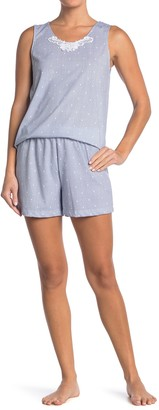 Carole Hochman Patterned 2-Piece Pajama Set