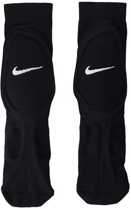 Nike Shin Sock Sleeve (Black/White) Athletic Sports Equipment