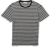 Sandro - Slim-fit Striped Linen T-shirt