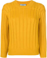 yellow crew neck sweater womens - ShopStyle