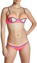 Maaji Flamingo Timbers Signature Cut Reversible Bikini Bottom