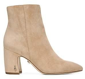 Sam Edelman Women's Hilty Suede Ankle Boots