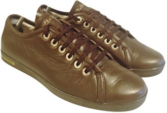 Dolce & Gabbana Brown Leather Trainers