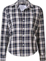 Frank And Eileen checked cropped shirt