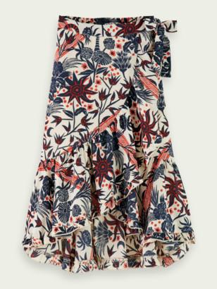 Scotch & Soda Printed maxi skirt | Girls