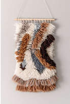 nuLoom Handmade Modern Chevron Shag Rug-Style Wall Hanging, One Size , Brown