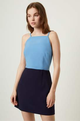 French Connenction Whisper Color Block Dress