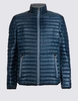 Marks and Spencer Lightweight Quilted Jacket with StormwearTM