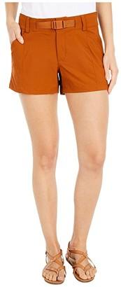 The North Face Paramount Shorts (Caramel Cafe) Women's Shorts