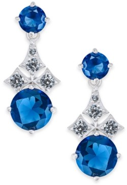 Eliot Danori Cubic Zirconia Drop Earrings, Created for Macy's