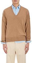Ami Alexandre Mattiussi Men's Wool-Cashmere Oversized Sweater