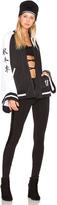 Fenty by Puma Kimono Tricot Track Jacket ini Black & White
