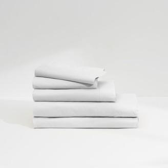 Casper Sateen Sheet Set White Full