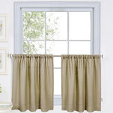 JCPenney Cameron Rod-Pocket Window Tiers