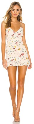superdown Gianni Ruffle Mini Dress