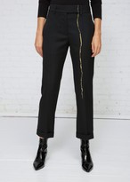 Haider Ackermann Classic Single Leg Embroidery Trousers