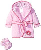 Disney Terry Bath Robe, Pink Baby Princess by