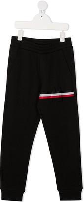 Moncler Enfant Striped Cotton Sweat Pants