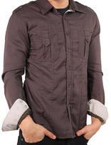 191 Unlimited Men's Brown Shirt