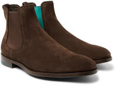 Paul Smith - Myron Contrast-trimmed Suede Chelsea Boots