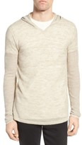 John Varvatos Men's Pullover Hoodie Sweater