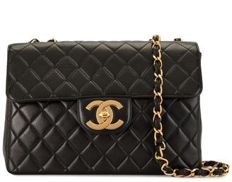 Chanel Pre Owned 1997 Jumbo quilted shoulder bag