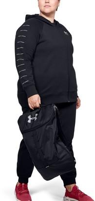Under Armour Women's UA Rival Fleece Sportstyle LC Sleeve Graphic Full Zip