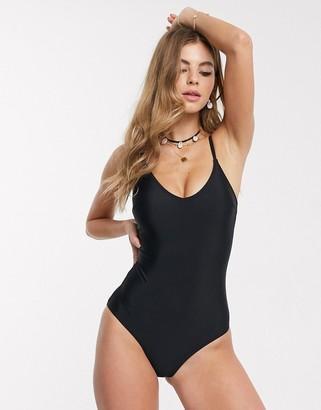 New Look swimsuit in black