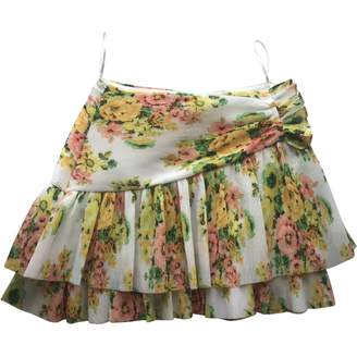 Zimmermann Yellow Skirt for Women