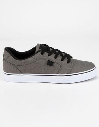 DC Anvil TX SE Gray & Black Shoes