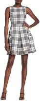 Taylor Sleeveless Fit & Flare Plaid Dress