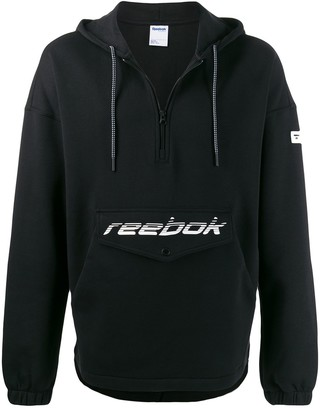 Reebok Logo Pocket Zipped Sweatshirt