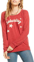 Chaser Saturday Back-Cutout Top