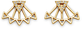 Rebecca Minkoff Two Part Triangle Earring