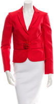 Valentino Embellished Notch-Lapel Blazer w/ Tags