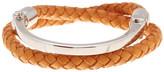 Miansai Silver Sterling Rovos Half-Cuff Bracelet