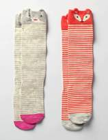 Boden 2 Pack Novelty Knee Socks