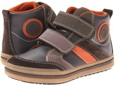 Geox Kids - Jr Elvis 17 (Toddler/Little Kid) (Brown/Orange) - Footwear