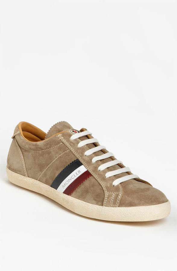 Moncler 'Monaco' Suede Sneaker