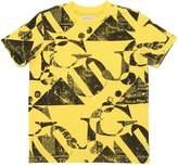 John Galliano Gazette Printed Cotton Jersey T-Shirt