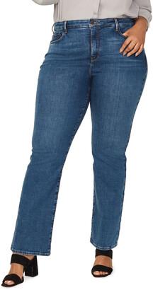 NYDJ Plus Size Barbara Boot-cut Jeans