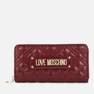 Love Moschino Women's Quilted Wallet